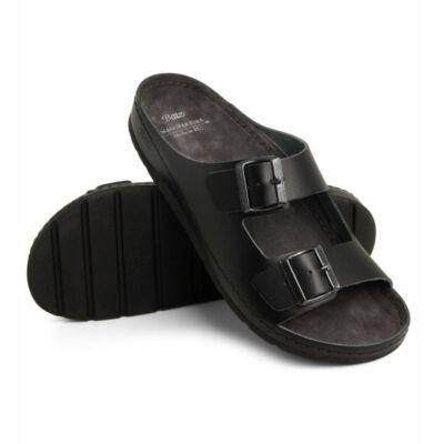 BATZ - Zeno fekete papucs