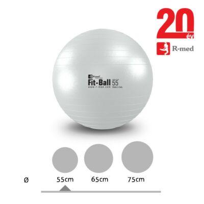 Fit-Ball gimnasztikai labda, gyöngyházszínű
