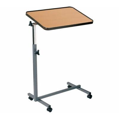 Állítható magasságú és dönthető ágyasztal