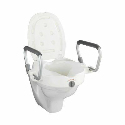 GMED WC magasító kapaszkodóval, fedeles