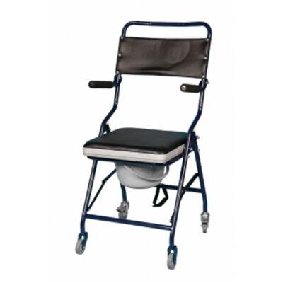 B-4322/G hordozható, összecsukható, gördíthető szoba WC