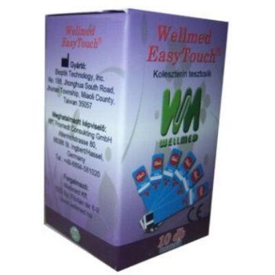 Tesztcsík Easy Touch készülékhez, koleszterinszint méréshez, 10 db-os