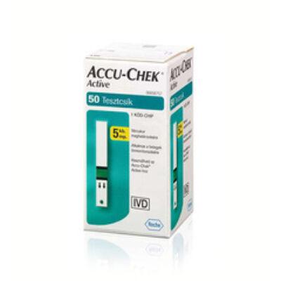 Tesztcsík Accu-Chek Activ vércukorszintmérő készülékhez, 50 db-os
