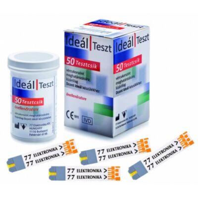 Tesztcsík Dcont Ideál, Trend, Monda és Nemere vércukorszintmérő készülékekhez, 50 db-os
