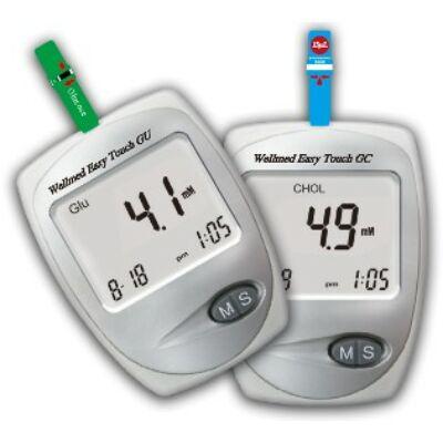 Easy Touch GCU koleszterin, vércukor- és húgysav mérő készülék