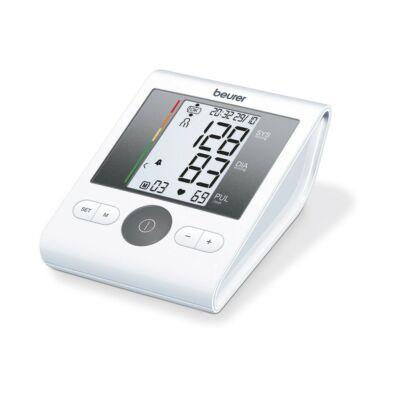 Beurer BM 28 onpack felkaros vérnyomásmérő, hálózati egységgel